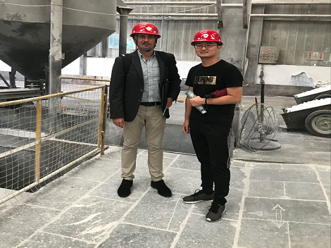 Customer from Spain Visiting our factory